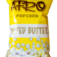 AFRO POPCORN 65G SALTED BUTTER